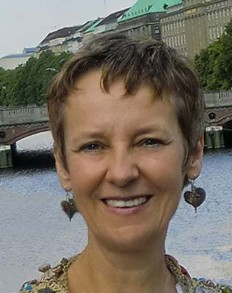 Doris Dohse an der Alster in Hamburg 2012
